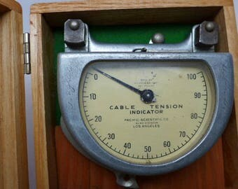 Vintage Cable Tension Indicator