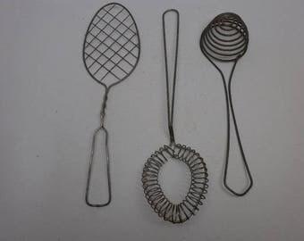 Vintage Wire Whisks - 3