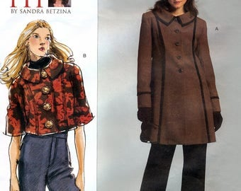 Vogue V2991 Today's Fit by Sandra Betzina Sewing Pattern for Misses' Jacket - Uncut - All Sizes