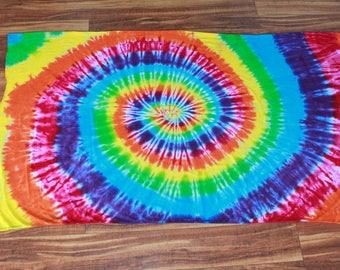 Tie dye knit fabric one yard