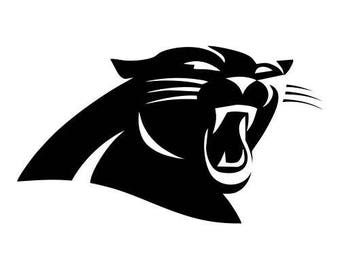 NFL Carolina Panthers Vinyl Decal Sticker