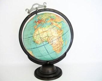 Vintage Suspension Globe c 1948 Weber Costello