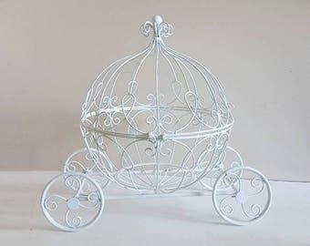 Large Fairytale Cinderella Pumpkin Carriage  Money Gift Card Box