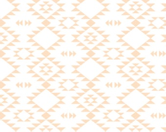 Changing Pad Cover - Navajo Coral - Contoured, Baby Girl Changing Pad Cover, Nurser,