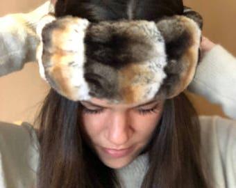 Tisavel Faux Fur Headband (more colors)