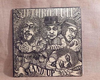 JETHRO TULL - Stand Up - 1970 Vintage Vinyl Gatefold 2 lp Record Album
