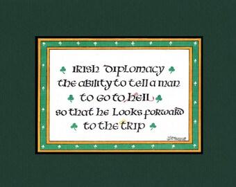 Irish Diplomacy