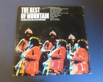 The Best Of Mountain Vinyl Record LP KC 32079 Columbia Records 1973