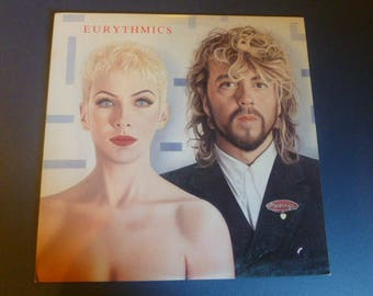 Eurythmics Revenge Vinyl Record LP AJLI-5847 RCA Records 1986