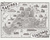 Martha's Vineyard Map...