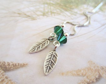 NEW-Little Leaves-Hill Tribe Silver Threaders-Artisan Leaves