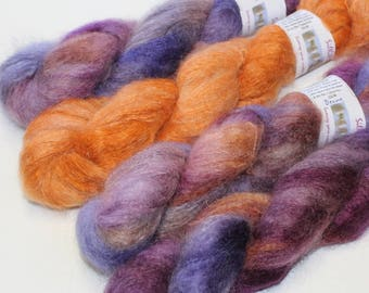 SilKiMo Fine Kid Mohair & Silk brushed yarn