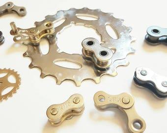 Bike Chain Magnets  - set of 9 - ACMGNT02
