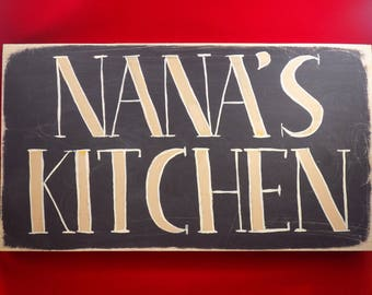 clearance priced - Nana's Kitchen Wall Hanging