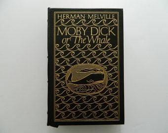 Moby Dick by Herman Melville. Easton Press. Leather bound. 1977.