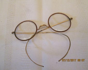 Vintage Spectacles/Eye Glasses, Round Eye Glasses, Vintae Specs, Old Eye Glasses,