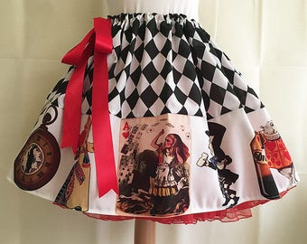 Alice In Wonderland, costume, skirt By Rooby Lane