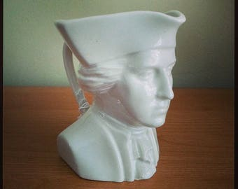 Vintage George Washington Souvenir Stein/Mug from Mt. Vernon in Alexandria, VA by Dwight Morris China