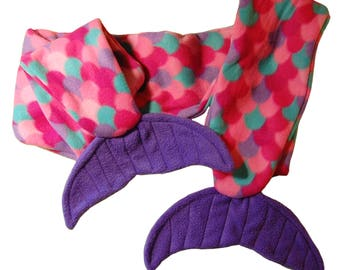 Pink Mermaid Scarf