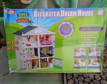 Ideal doll house decorator, complete
