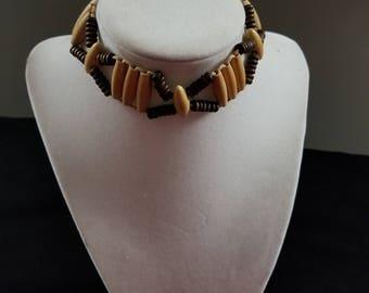 Beaded Choker and Bracelets