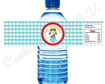 Wizard Of Oz ~ Dorothy Water Bottle Labels