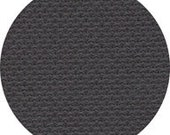 CHALKBOARD BLACK 16 ct. Aida 28 32 ct. hand-dyed cross stitch fabric Linen at thecottageneedle.com