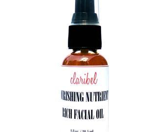 Face Oil | Facial Oil | Face Serum | Face Moisturizer | Argan Oil | Dry Skin Oil