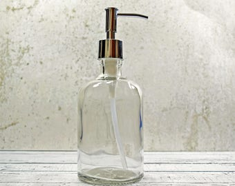 Soap Dispenser | Bronze Bathroom Accessories | Shampoo Dispenser | Copper Kitchen Decor