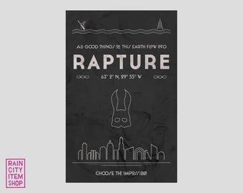 Bioshock - Minimalist Rapture Poster