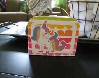 Unicorn Small Lunch Box Set of 12