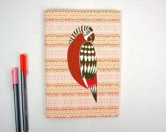 A5 Notebook - Parrot