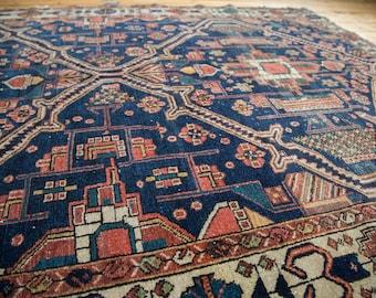 5x6.5 Antique Fine Malayer Rug