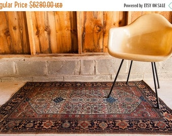 10% OFF RUGS Stunning Finely Knotted Small Antique Persian Rug