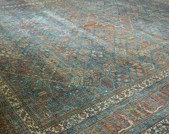 11x14 Vintage Distressed Fine Joshegan Carpet