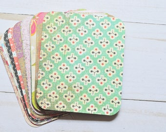 2.5 x 3 Mini Journal Cards // Assorted Patterns // Project LIfe Inspired // Scrapbooking // Pocket Pages // Planner Accessory