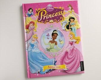 Disney Princess Notebook - handmade from an annual