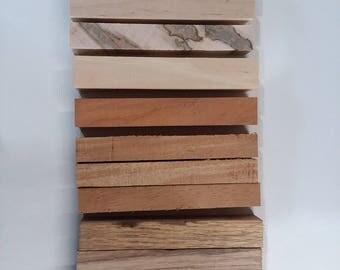Pen Blanks - 24 various hardwoods