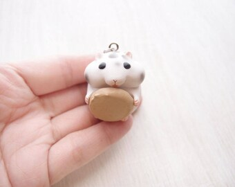 cute hamster 6 necklace