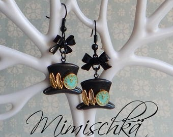 earrings alice in wonderland mad hatter