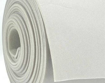 "Foam Backed white Auto Pro Headlining 3/16"" Fabric 108"" x 60"""