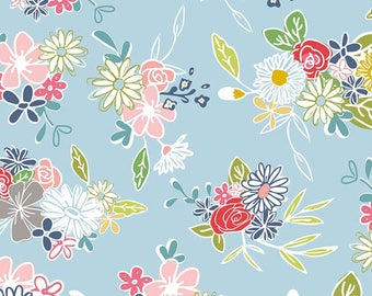 Daisy Days cotton fabric by keere Job for Riley Blake C6280