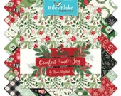 "Comfort and Joy 10"" Stackers by Dani Mogstad for Riley Blake Designs-42 Pieces (10-6260-42)"
