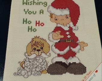 Merry Christmas 1973-1993 Wish you a Ho Ho Ho