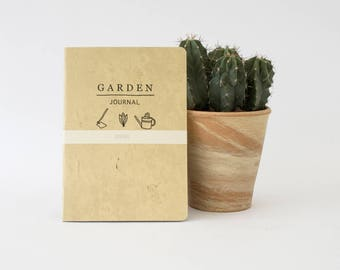 GARDEN Journal - a notebook with special interior to take notes and planing at your garden -  GARA5001