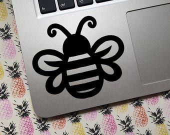 Bumble Bee vinyl decal - CUSTOM - Choose size and color! - Car decal, laptop decal, etc Bees, Apiary, Apiarist, Beekeeper, Cute Bee