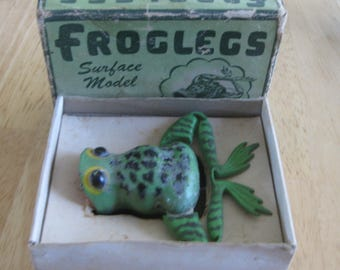Jenson Froglegs Kicker 104T With Original Cardboard Box collectible