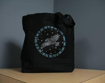 Firefly Serenity Tote Bag