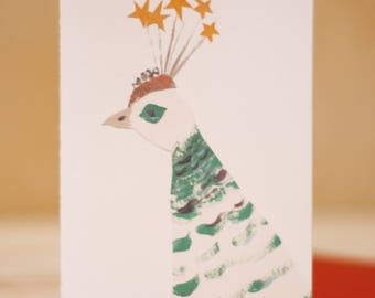 Fancy Feather + Illustration + Greeting Card