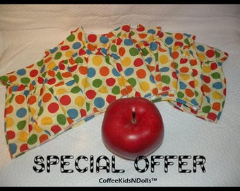 Classroom Chair Pocket Covers // Chair Pockets // Seat Sacks // Teacher Organization // You Choose Quantity  // Polka Dot // SPECIAL OFFER